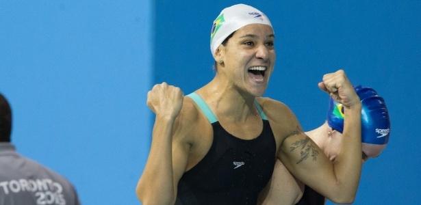 Joanna Maranhão, 28, fez indice olímpico nos 400m medley e pode ir aos Jogos pela quarta vez