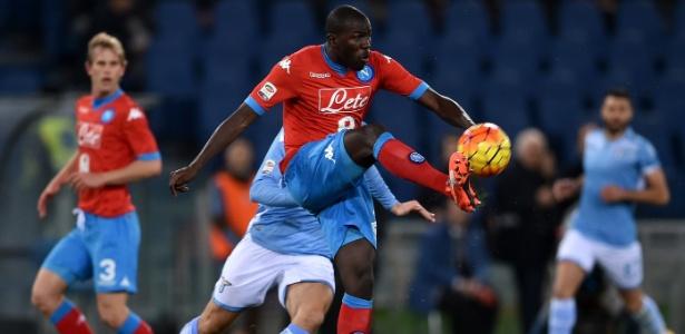 Zagueiro Koulibaly é um dos destaques do Napoli na temporada