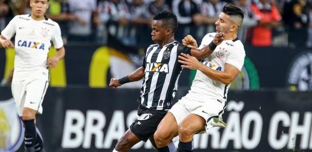 Destaque no 1º turno, Cazares está fora do duelo entre Atlético-MG e Corinthians