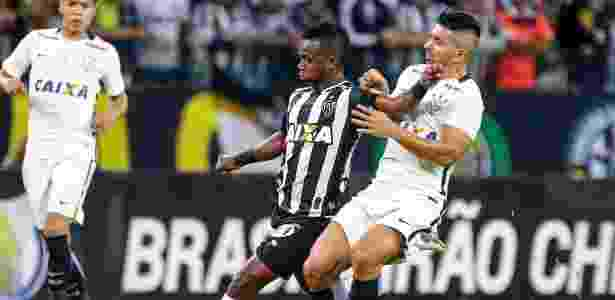 Cazares enfrenta Guilherme - Clube Atlético Mineiro/Divulgação - Clube Atlético Mineiro/Divulgação