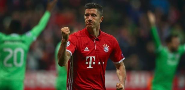 Atual contrato de Lewandowski com o Bayern vai até 2019