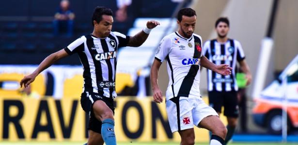 Botafogo e Vasco voltam a se enfrentar após quatro anos em jogo da primeira divisão