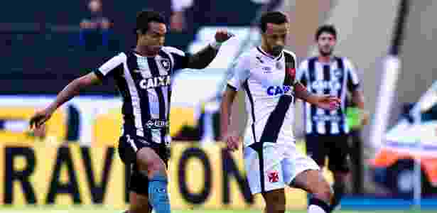 Botafogo e Vasco voltam a se enfrentar após quatro anos em jogo da primeira divisão  - Thiago Ribeiro/AGIF