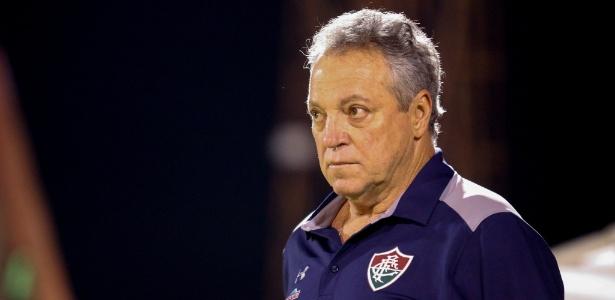 Técnico Abel Braga foi enaltecido por jovem lateral esquerdo do Fluminense - Lucas Merçon/Divulgação