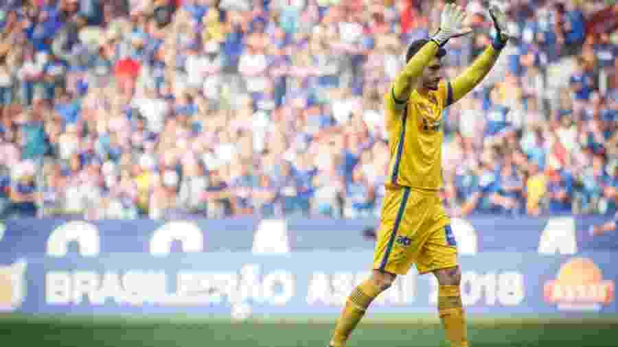 Rafael, goleiro do Cruzeiro, pode se transferir para o Atlético-MG no mercado da bola - Vinnicius Silva/Cruzeiro E.C.