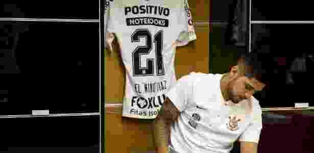 O jogador paraguaio será titular do Corinthians pela primeira vez neste Brasileiro - Rodrigo Gazzanel/Agência Corinthians