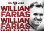 São Paulo anuncia a contratação do volante Willian Farias, ex-Vitória - Divulgação