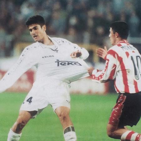 Álvaro Benito, quando ainda atuava como jogador do Real - @alvarobenitov/Instagram