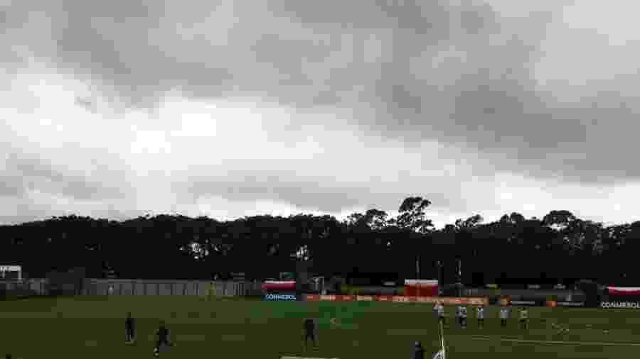 Seleção do Chile treina no CT do São Paulo - José Eduardo Martins/UOL