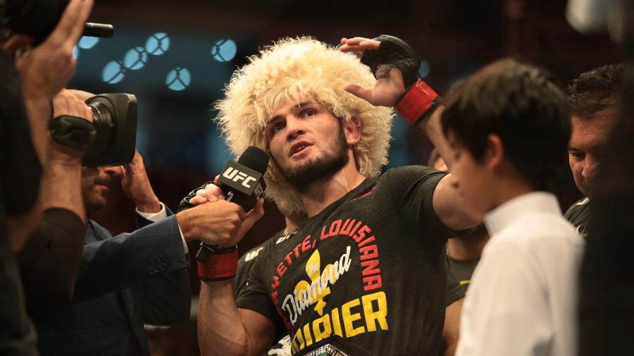 Khabib Nurmagomedov confirma que está dentro do UFC 249 - Christopher Pike/Reuters