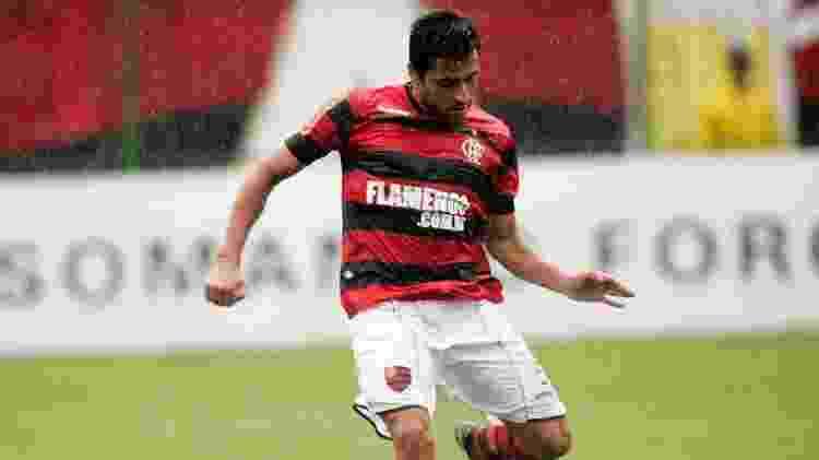 Maldonado durante sua passagem pelo Flamengo - Fábio Borges/ VIPCOMM - Fábio Borges/ VIPCOMM