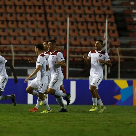 Fluminense vence o Ituano com gol de Luiz Henrique pela Copinha - MIGUEL SCHINCARIOL/ESTADÃO CONTEÚDO