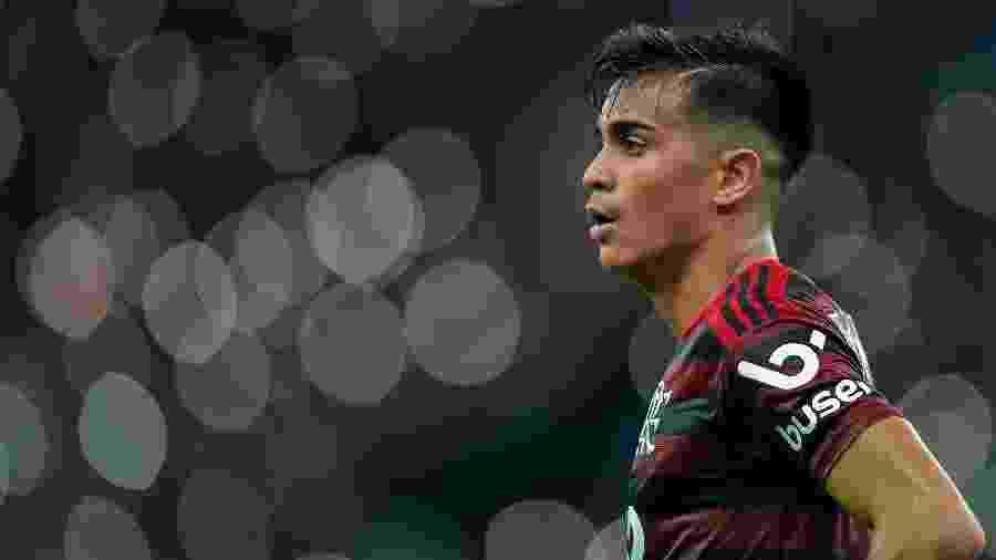 Reinier trocou o Flamengo pelo Real Madrid. Dinheiro na conta dos rubro-negros - Thiago Ribeiro/AGIF