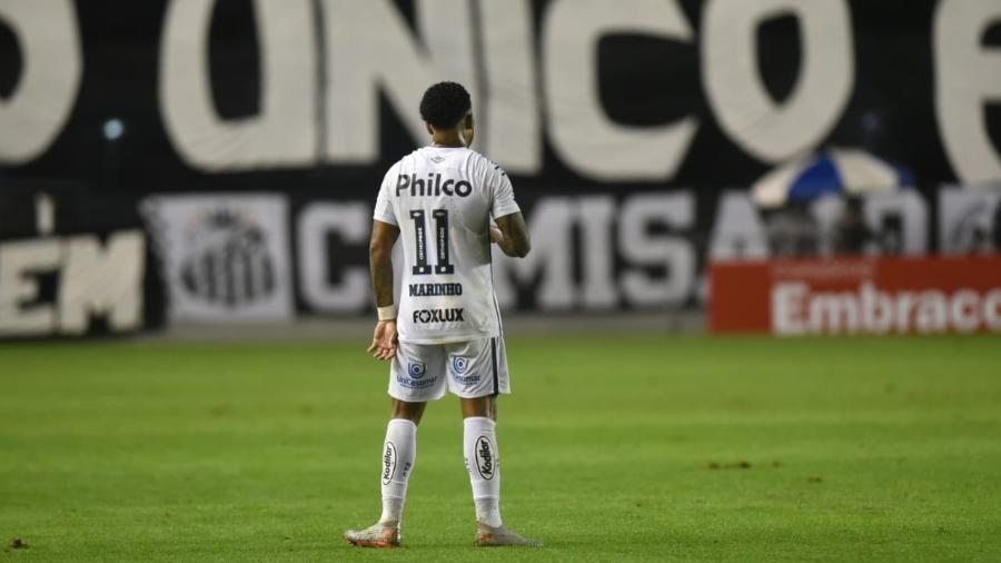 Atacante diz que incidente no Campeonato Paulista o levou a se posicionar contra o racismo - Ivan Storti/Santos FC