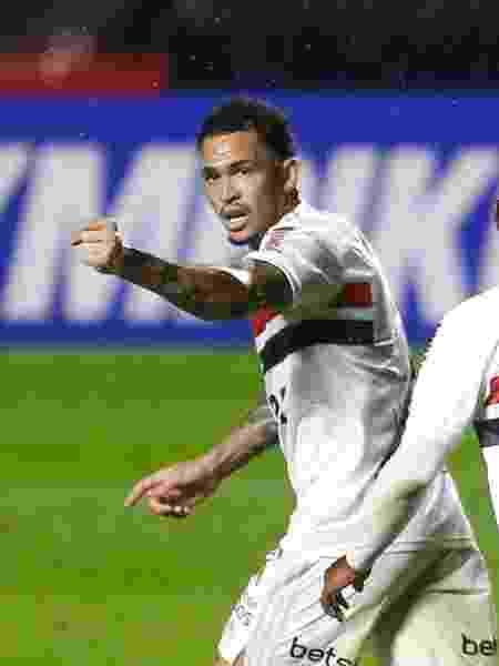 Luciano tem se destacado com gols no São Paulo - Marcello Zambrana/AGIF