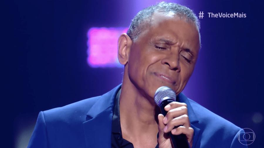 Claudio DaMatta, cantor, compositor e ex-atleta olímpico, durante audições às cegas no The Voice + - Reprodução/Globo