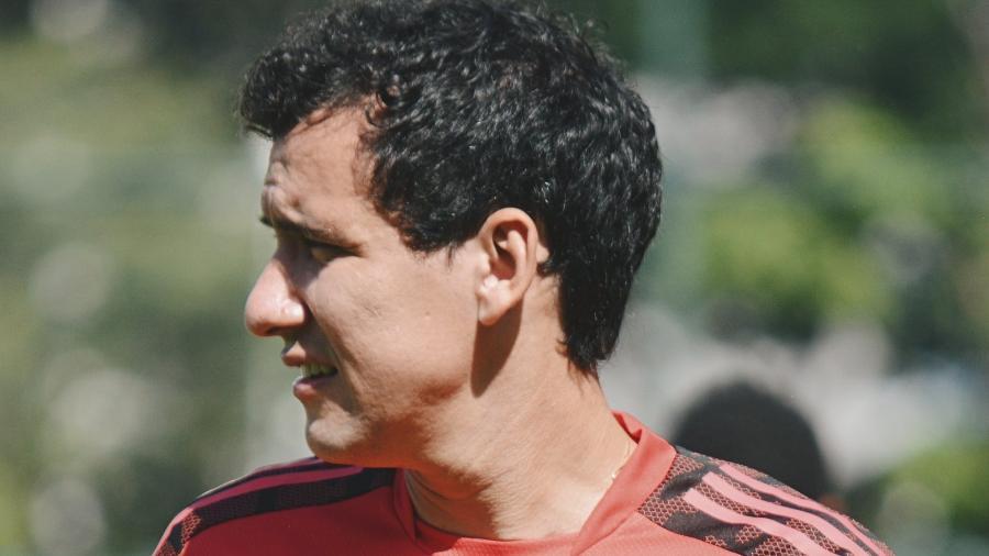Pablo, atacante do São Paulo, foi contratado em dezembro de 2018 junto ao Athletico - Divulgação/São Paulo