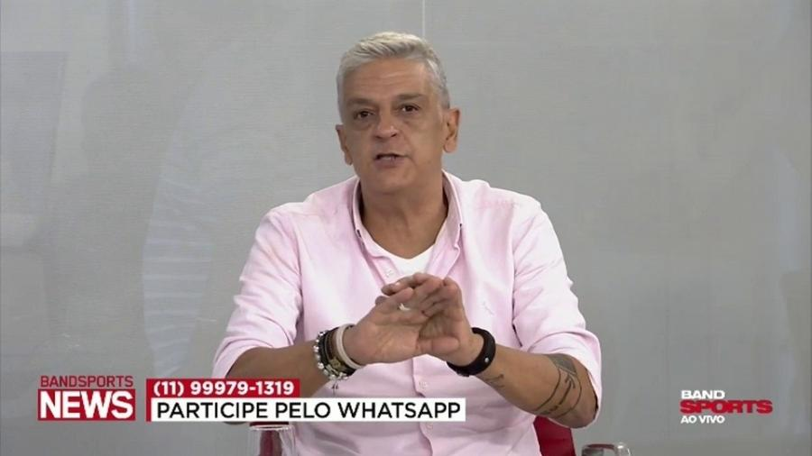 Ivan Andrade: ex-comentarista da Globo vence batalha na Justiça contra emissora - Reprodução/BandSports