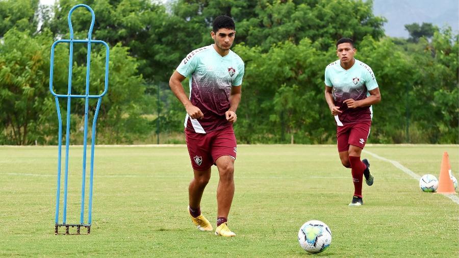 Reforços para 2020, Michel Araújo e Fernando Pacheco devem deixar Fluminense no mercado da bola - Mailson Santana / Fluminense FC