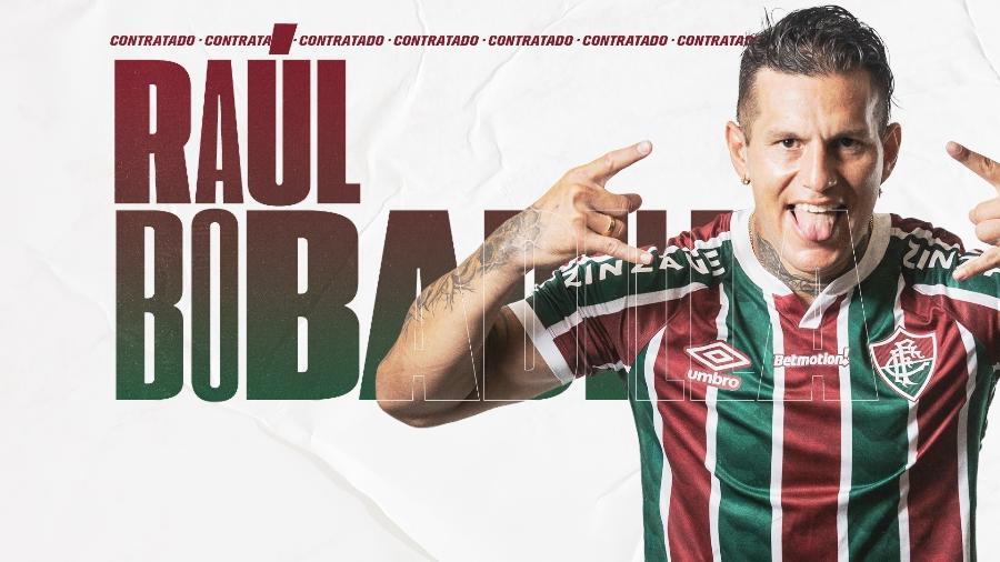 Raúl Bobadilla é o novo jogador do Fluminense - Reprodução