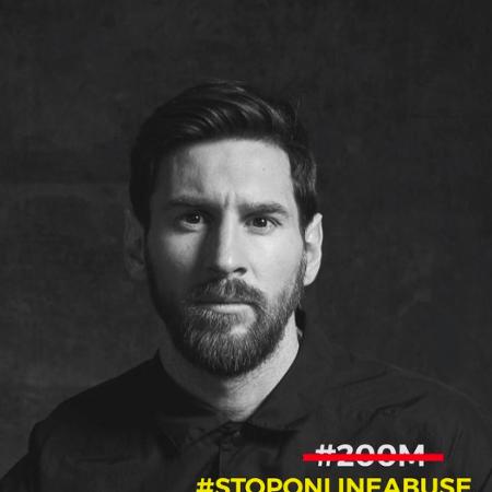 Messi pede medidas urgentes pelo fim do abuso virtual nas redes sociais - Instagram