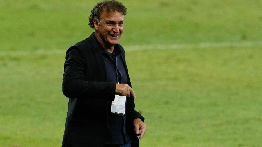 Cuca retornou o Atlético-MG em março, após hiato de quase sete anos do fim da primeira passagem pelo clube - VIVIANE MOREIRA/FUTURA PRESS/FUTURA PRESS/ESTADÃO CONTEÚDO