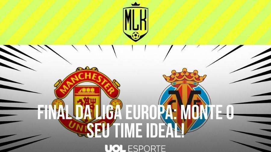 Manchester United e Villareal farão a final da Liga Europa - Arte/UOL