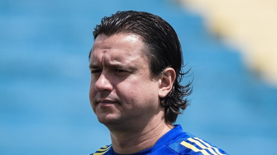 Sérgio Santos Rodrigues sofre pressão da torcida, que agora quer impeachment do presidente - Gustavo Aleixo/Cruzeiro