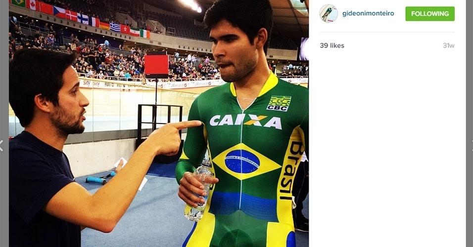 Gideoni Monteiro - ciclismo