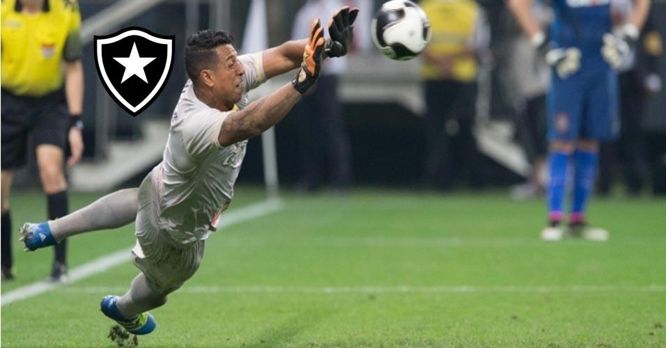 Sidão (goleiro) - Do Audax-SP para o Botafogo