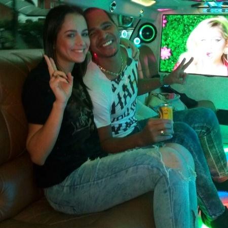 Aloísio Chulapa e a mulher, Luiza - Blog do Boleiro
