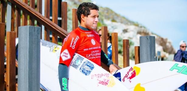 Adriano de Souza é o quarto colocado no Circuito Mundial de Surfe - WSL / Divulgação