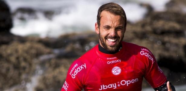 Caio Ibelli é uma das novas promessas brasileiras na elite do surfe mundial - Pierre Tostee/WSL
