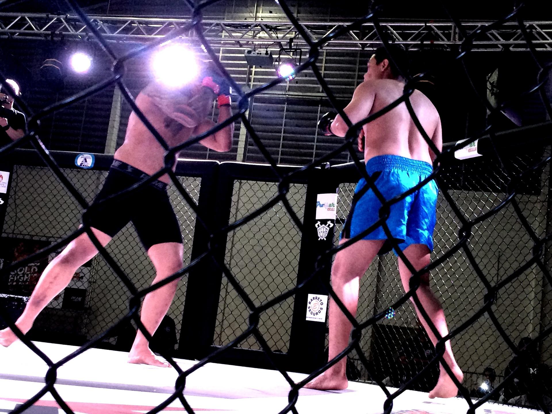 Luta de MMA amador em São Paulo