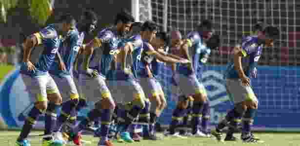 Diferenças musicais não são problemas para o elenco do Cruzeiro - Washington Alves/Light Press/Cruzeiro