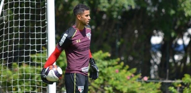 O goleiro Renan Ribeiro, do São Paulo
