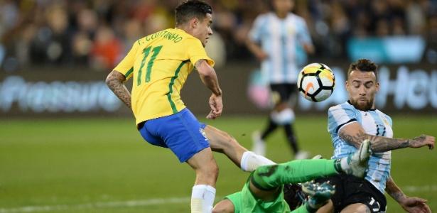 Philippe Coutinho será o capitão da seleção contra a Austrália