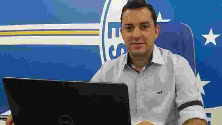 Klauss Câmara foi campeão da Copa do Brasil 2017 como diretor de futebol do Cruzeiro - Divulgação/Cruzeiro