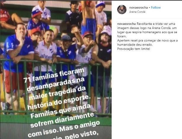 Chape quer a exclusão do Nacional na Copa Libertadores da América