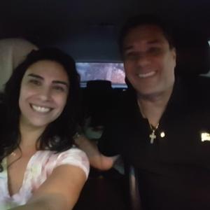 Luxa ajuda mulher em trânsito de São Paulo