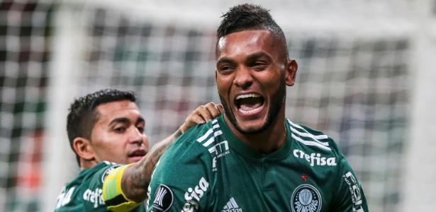 Borja faz gol do Palmeiras contra o Alianza Lima na Libertadores
