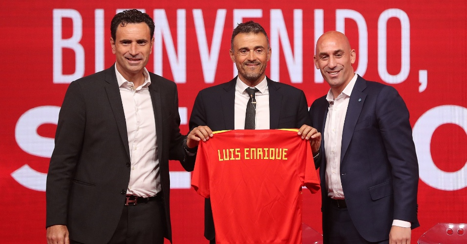 Luis Enrique é apresentado como novo técnico da seleção da Espanha