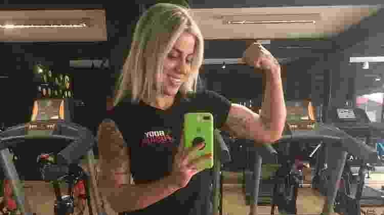 Vanessa tira a clássica de academia durante treino - Reprodução Instagram - Reprodução Instagram