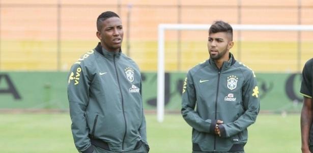 Thalles e Gabigol na seleção sub-20: tomaram rumos distintos - Rafael Ribeiro / CBF