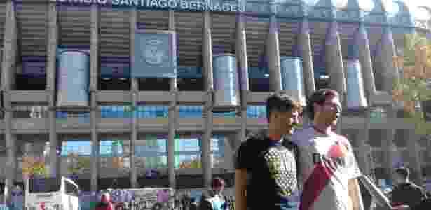 Torcedores de Boca Juniors e River Plate se dividem entre temor e euforia em Madri - João Henrique Marques/Colaboração para o UOL
