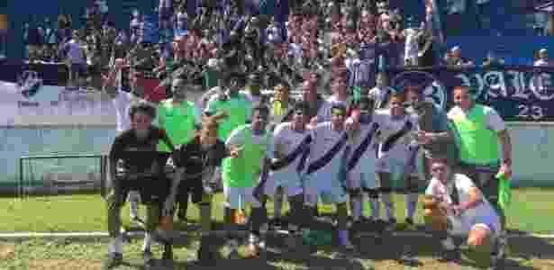 Vasco comemora classificação no Grupo 27 da Copa São Paulo - Sarah Borborema/Vasco.com.br