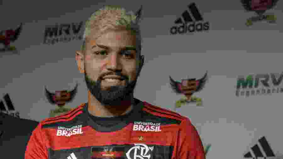 Gabigol é um dos reforços do Flamengo para a temporada 2019 - Thiago Ribeiro/AGIF