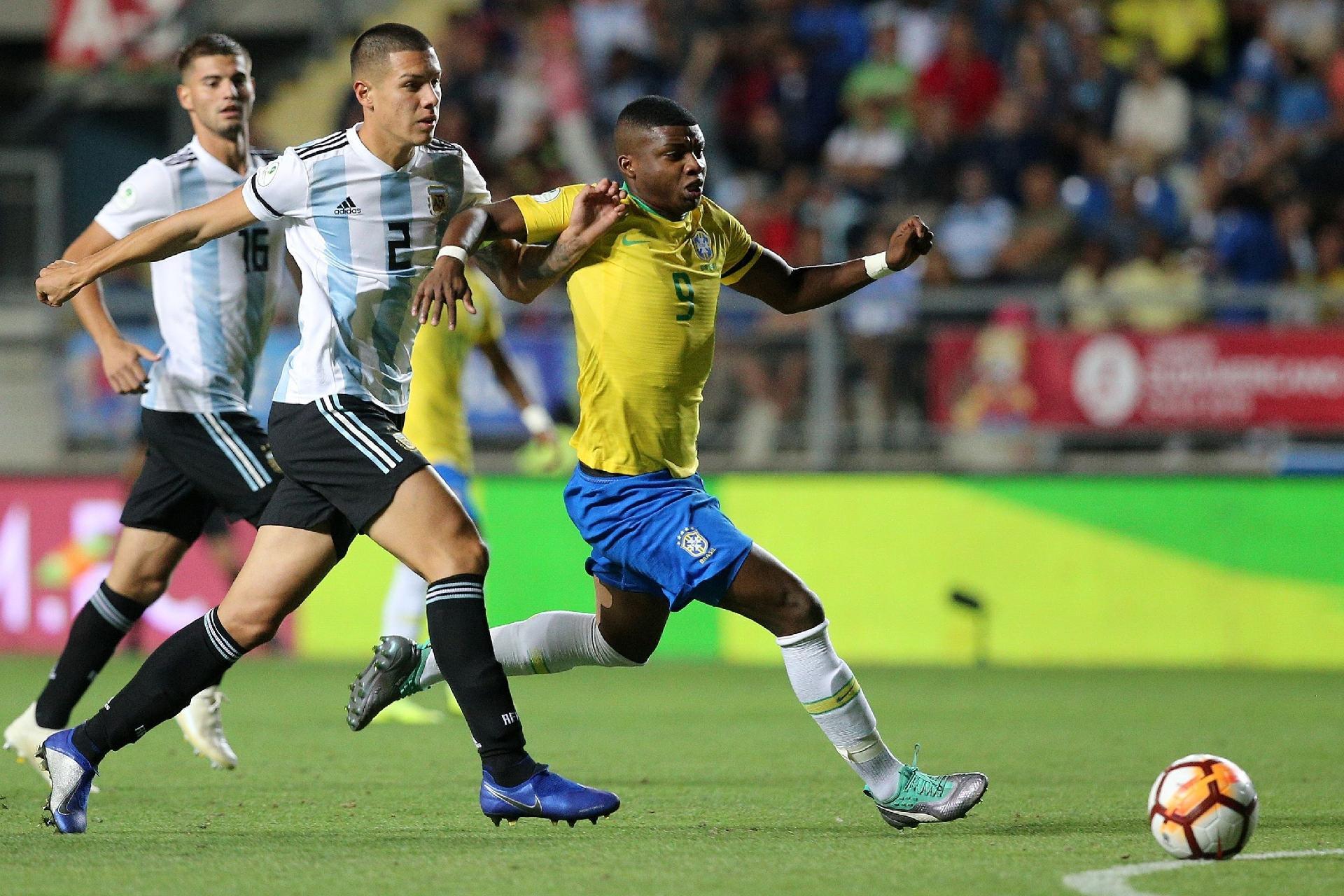 Brasil bate a Argentina no Sul-Americano sub-20 eae6b023a50eb