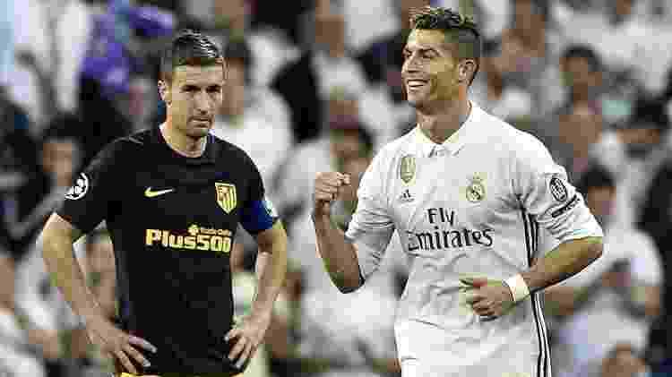 Cristiano Ronaldo gols Real Madrid Liga dos Campeões - Gerard Julien/AFP - Gerard Julien/AFP