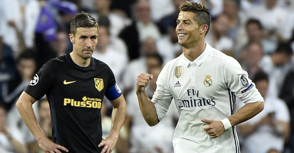Cristiano Ronaldo Liga dos Campeões 2017 Atlético de Madri Gabi